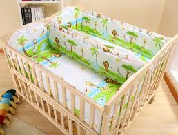 Multifunctional Solid Wood Twin Baby Crib Newborn Infant Bed Environmental Cribs For Twins Babies Cradle