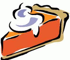 Pumpkin cheesecake clipart