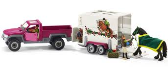 Schleich - 42346 | Horse Club: Pick Up With Horse Trailer – Castle Toys Bruder 02749 Man Tga Cattle Transportation Truck With 1 Cow New Breyer Horse And Trailer Breyer 5356 Stablemates Gooseneck In Box Traditional Two Millbry Hill Amazoncom Animal Rescue And The Best Of 2018 Pickup Fort Brands 5352 Wyldewood Tack Shop Used Red Dually Truck Trailer Sn14 North Wraxall For 19 Scale Twohorse Horze Series Dually