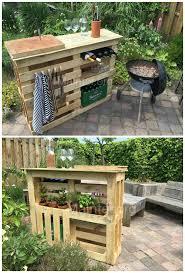 Portable Patio Bar Ideas by Best 25 Bbq Stand Ideas On Pinterest Garden Bar Garden Table
