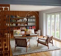 arc floor l vintage living room rethink design studio