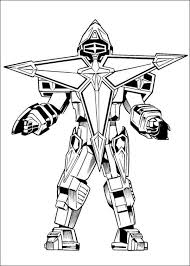 Print Power Rangers Coloring Pages