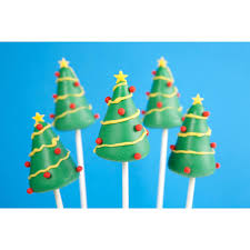 Buy Christmas Tree Cake Pops UK