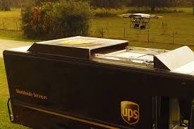 100 What Time Does The Ups Truck Come UPS FedEx Investing In Drones While Pushing Tax Cuts As Job
