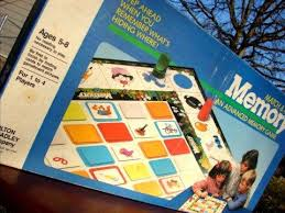 Memory Match And Move Board Game Milton Bradley Edition