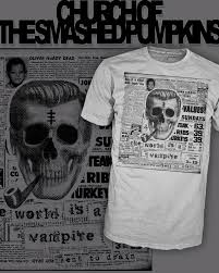 Smashing Pumpkins Shirts by Smashing Pumpkins Vampire Church Subgenius Tee Shirt