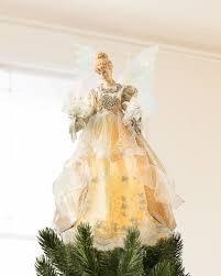 White Fiber Optic Christmas Tree Walmart by Charming Fiber Optic Christmas Angel Tree Topper Part 6 Fiber