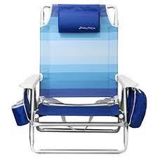 Tommy Bahama Beach Chairs Sams Club by Nautica Beach Chair W Side Cooler Pouch U0026 Cup Holders Rainbow