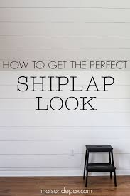 How To Plank A Wall DIY Shiplap