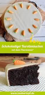 karottenkuchen mit schokolade