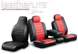 LeatherLite™ Series Leather Custom Fit Seat Covers - Fia Inc. : Fia Inc.