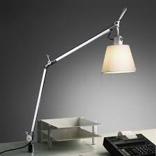 Tolomeo Desk Lamp Led by Artemide Tolomeo Basculante Tavolo With Table Pivot Workplace Lamps