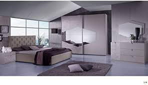 lignemeuble ligneeux terence taupe schlafzimmer design set