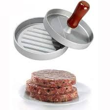 Metal Hamburger Meat Patty Cake Mould For Cooking Tools Pressing Pressure Mold Household Food Machine Kitchen