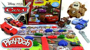 cars pate a modeler pâte à modeler disney cars 2 play doh flash mcqueen martin luigi