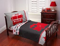Carter's Fire Truck 4 Piece Toddler Bedding Set & Reviews | Wayfair