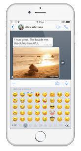 WhatsApp FAQ Using emoji