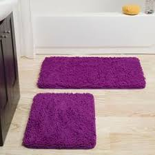 Royal Blue Bath Mat Set by 2 Piece Royal Blue Bath Mats Memory Rugs Small 17x24 Large 20x32