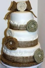 Rustic 50th Anniversary Cake