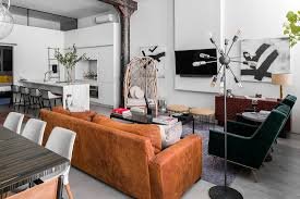100 New York Loft Design Modern Eclectic Finds An Industrial Home In The Heart Of