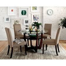 Value City Furniture Kitchen Chairs by Alcove Dinette With 4 Side Chairs Beige Value City Furniture