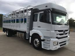 100 Mercedes 6 Wheel Truck 2017 Benz 1833 Axor Seater 1833 RGM Maintenance Townsville