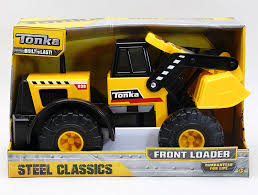 Amazon.com: Tonka Classic Steel Front End Loader Vehicle: Toys & Games
