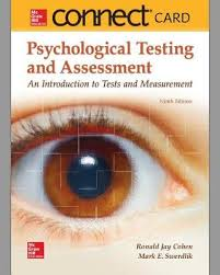 Connect Access Card For Psychological Testing And Assessment