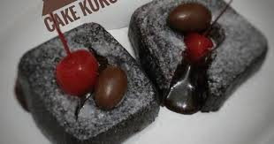 237 choco lava cake kukus
