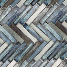 Iridescent Mosaic Tiles Uk by Copper Fusion Modular Mix Mosaic Tile Zrob Flizy Pinterest