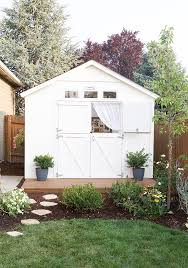 Tuff Shed Home Depot Display by A Cozy Cottage She Shed The Home Depot Blog
