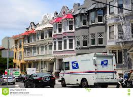 100 Who Makes Mail Trucks A US Truck Parked In A San Francisco Neighborhood Editorial