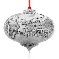 Donner And Blitzen Christmas Tree Ornaments by All Ornaments Wendell August