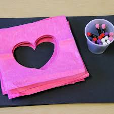A Simple Valentines Day Craft Invitation For Kids
