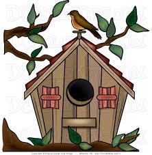 Cute Birdhouse Clipart Free