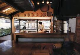 Modern Rendition Of Traditional Japanese Kitchen