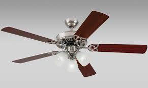 Harbor Breeze Dual Motor Ceiling Fan by Harbor Breeze Fans Springfield Brushed Nickel