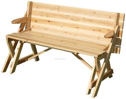 incredible folding wooden picnic table with interesting folding