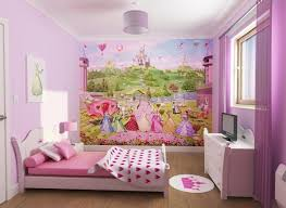 Princess Bedroom Wall Painting For Girls