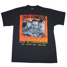 Dead Kennedys Halloween Shirt by 1980s Dead Kennedys Give Me Convenience Or Give Me Death Shirt