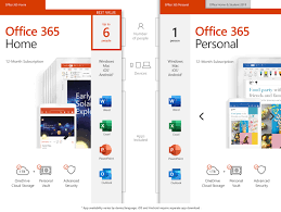 Microsoft Office 365 Home   12-month Subscription, Up To 6 People, PC/Mac  Download