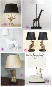 Barbara Cosgrove Lamps Contact by Animal Lighting Round Up Bronze Bird Seal Frog And Brass