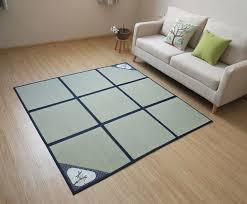 tapis pour chambre 180x180 cm pliable tapis et tapis pour chambre à coucher salon
