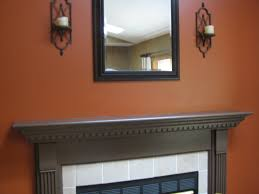 Paint Colors Living Room Accent Wall by I Painted My Loft A Burnt Orange Color Like This I Was A Little