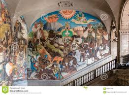 Famous Mexican Mural Artists by National Palace And The Famous Mural The Legend Of Quetzalcoatl
