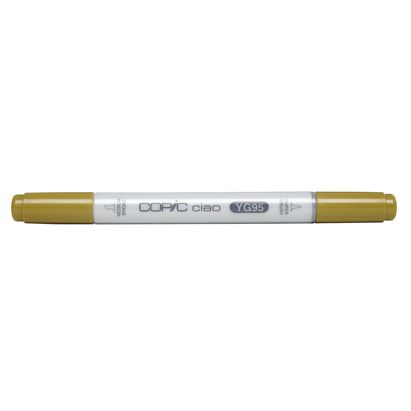 Copic : Ciao Marker : Pale Olive (YG95)