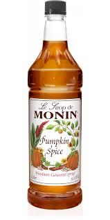 Starbucks Pumpkin Spice Frappuccino Bottle by Pumpkin Spice Syrup Monin