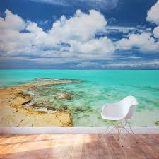 Wall Mural Decals Cheap by Turks U0026 Caicos Tropical Paradise Wall Mural