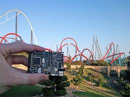 khan port aventura measuring the inertial forces in two of the most savage roller