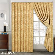 Teal Blackout Curtains Pencil Pleat by Luxury Jacquard Curtains Fully Lined Ready Made Tape Top Pencil